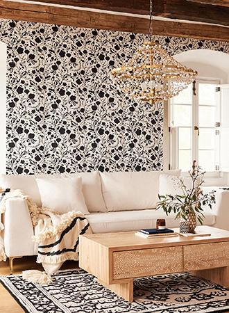cool floral wallpaper ideas