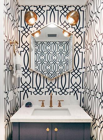 cool wallpaper ideas geometric prints