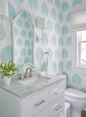 cool blue wallpaper ideas for the home