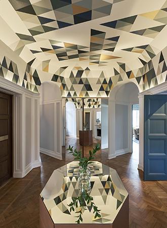 cool wallpaper ideas ceiling