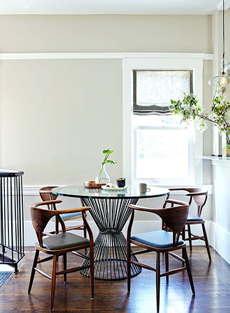 taupe color ideas dining room