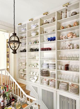 Pantry kitchen shelf ideas