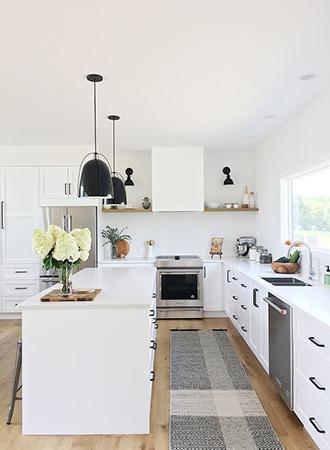 timeless ideas for kitchen shelves