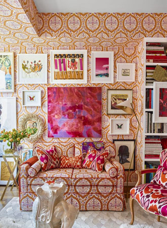 eclectic living room wallpaper ideas 2019