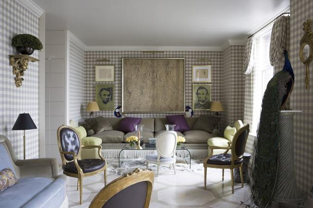 fresh gingham living room wallpaper ideas 2019