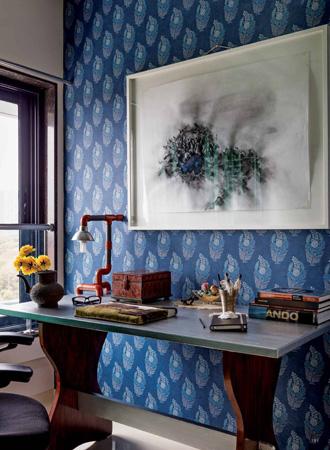 Batik living room wallpaper ideas 2019