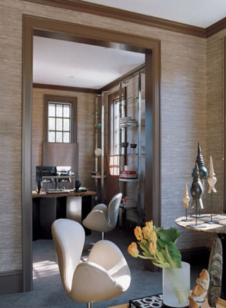 tonally structured living room wallpaper ideas 2019
