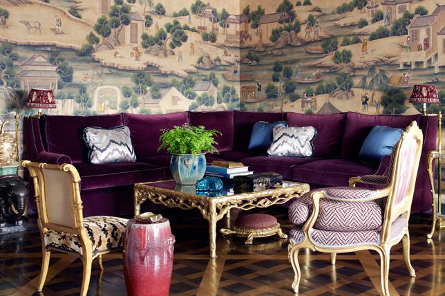 exotic living room wallpaper ideas 2019