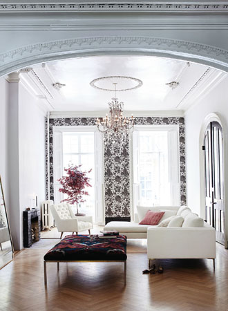 Accent Wall Living Room Wallpaper Ideas 2019