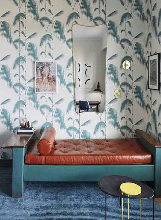 Vintage living room wallpaper ideas 2019