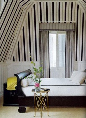 Pinstripe Living Room Wallpaper Ideas 2019