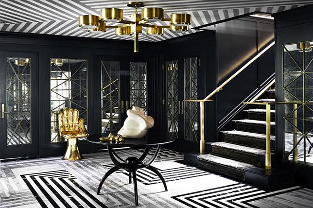 Ceiling living room wallpaper ideas 2019
