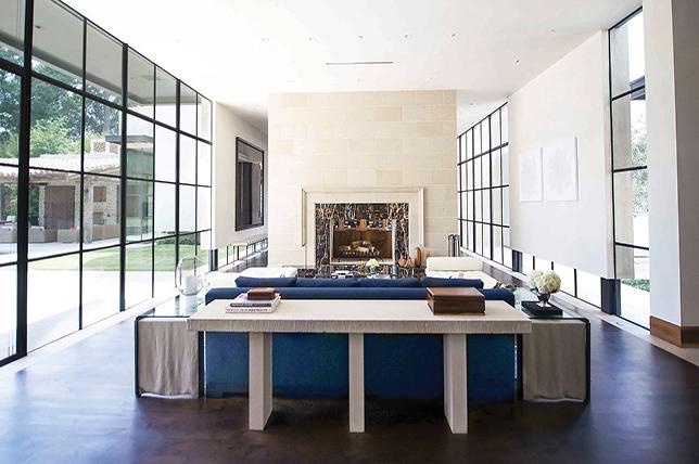 Interior design spring trends concrete furniture