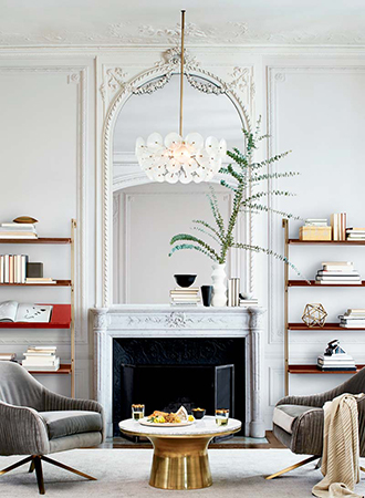 Interior design spring trends scalloped edges