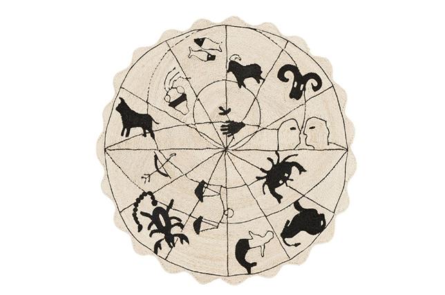 Interior design spring trends zodiac diagram