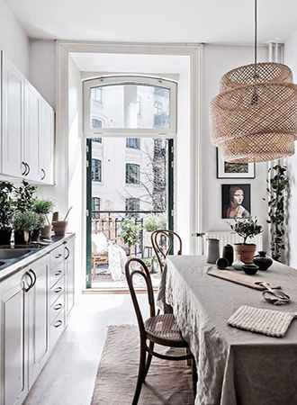 interior design spring trends soft white paint
