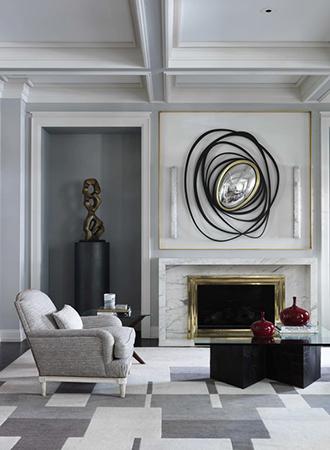contemporary living room ideas fireplace decor
