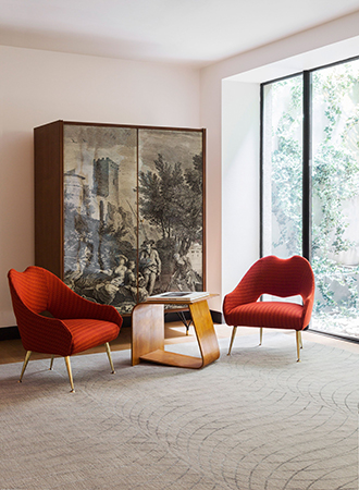 Conversation areas for contemporary living room ideas