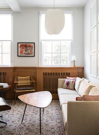 contemporary living room ideas art