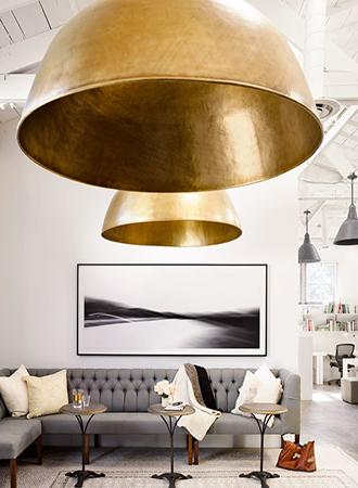 Office decor ideas lighting