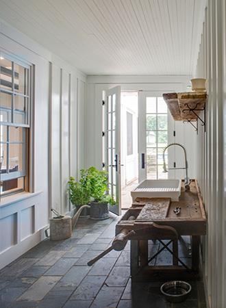 Hallway mudroom ideas