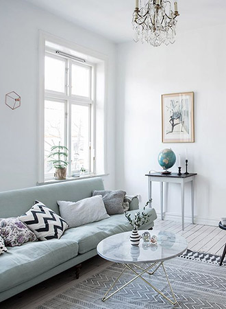 Mint green living room ideas sofa