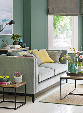 Wall color mint green living room ideas