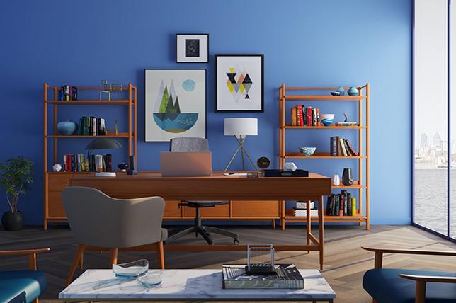 modern office sideboard