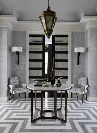 Entrance Art Deco Furniture Ideas