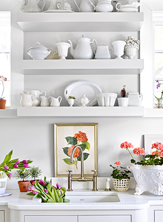 Spring Home Makeover Ideas Storage Solutions
