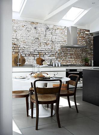 Brick wall decor ideas