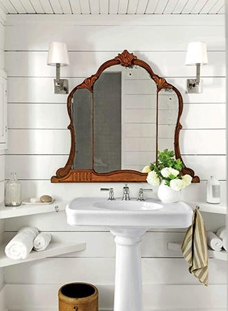 reused bathroom mirror 2019