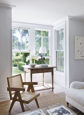 Spring decor ideas rattan furniture