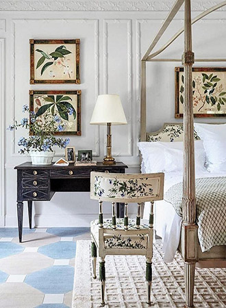 Shabby chic bedroom ideas bed frame
