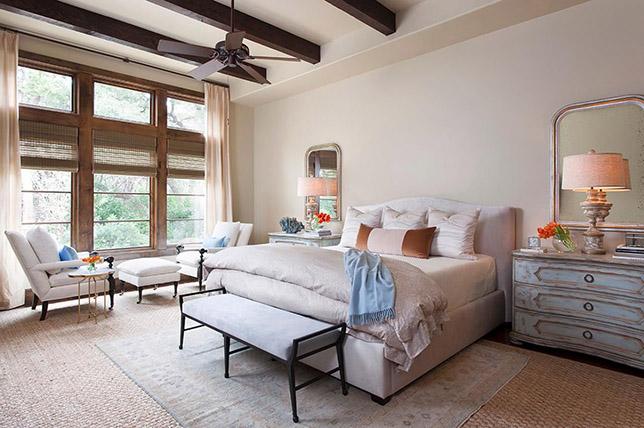 Shabby chic bedroom ideas curtains