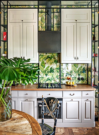 Shelves kitchen wallpaper ideas 2019