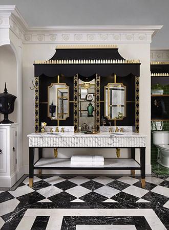Black and white bathroom ideas color scheme