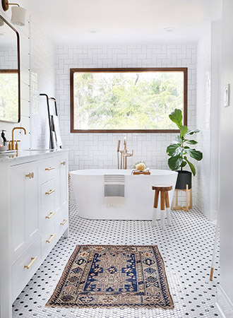 modern black and white bathroom ideas