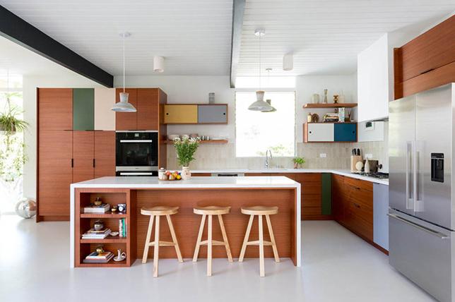 Mid Century Modern Kitchen Flooring