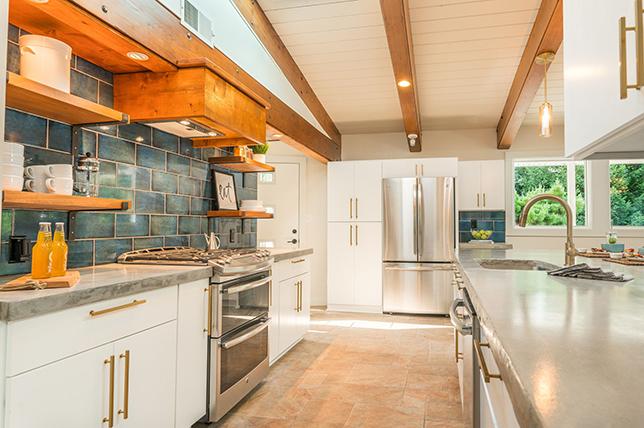 Mid Century Modern Kitchen colors