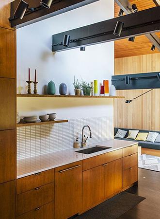 Mid Century Modern Kitchen Storage