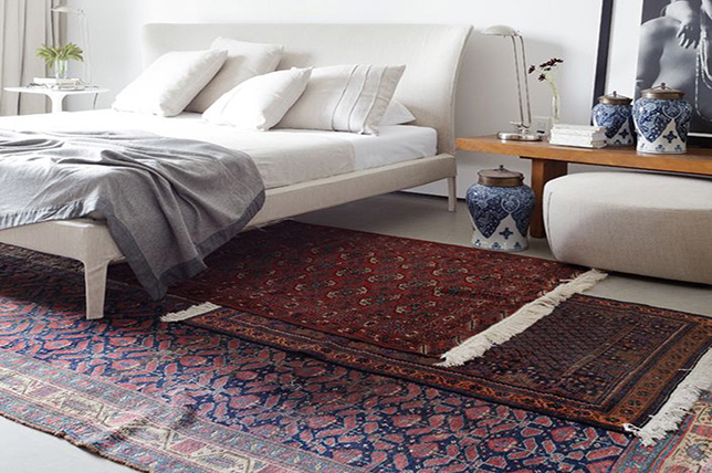 Bedroom layer carpets