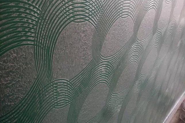 Comb wall texture ideas