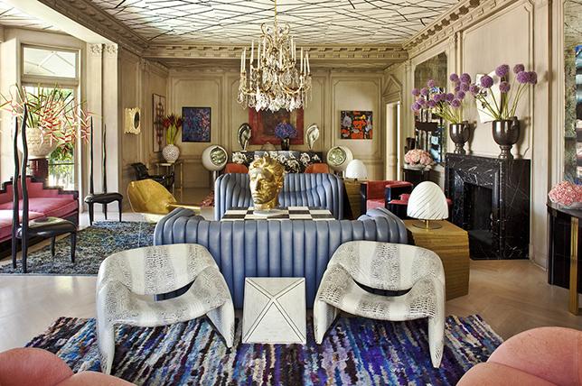 maximalist living room ideas