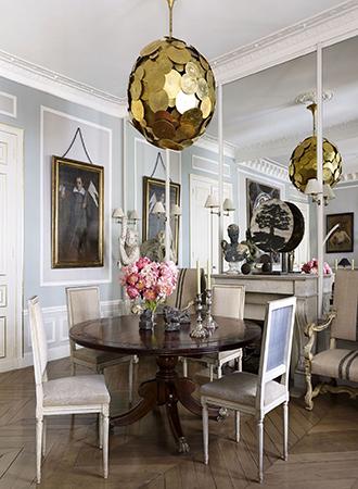 Dining room maximalism