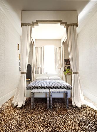 Bedroom maximalism interior design