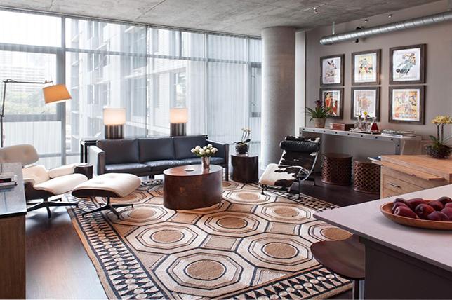 golden geometric living room rugs