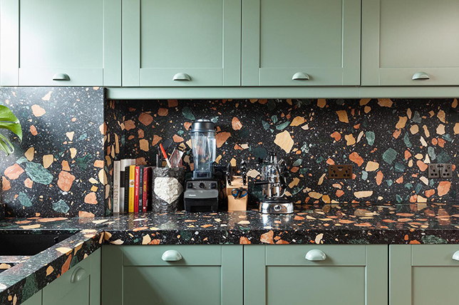 Terrazo kitchen countertop ideas