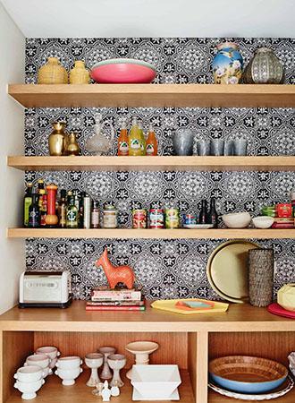 Moroccan kitchen wallpaper ideas