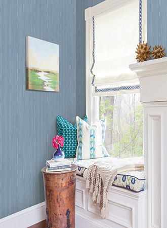 Faux Bous Wood Kitchen Wallpaper Ideas